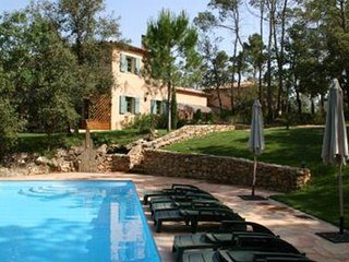 Luxury Provencal House in the Cote d'Azur countryside, stunning setting, pool