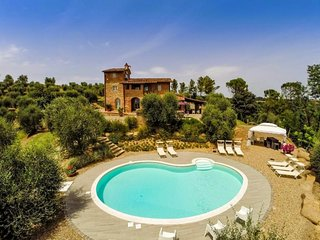 4 bedroom Villa in Palaia, Pisa And Surroundings, Tuscany, Italy : ref 2135222