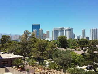 Your Amazing Strip View while over looking a Golf Course and Pool at the same time!!!