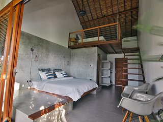 Loft 2 to 4, High comfort, Pool, beach 300m, Vassani Stay #3, Canggu