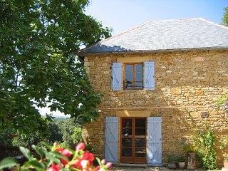 Cottage with stunning views from every room heated pool large gardens WIFI