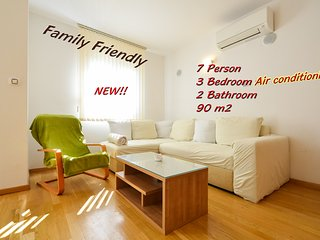 Beni Apartment*** - Family Friendly (90 m2), Zadar