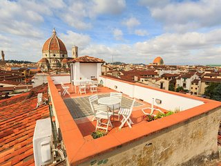 La terrazza su Firenze