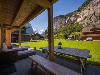 Luxury apartment with unbeatable views., Lauterbrunnen