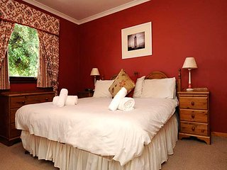Master bedroom with bathroom en suite. Three other twin bedded bedrooms and two additional bathrooms