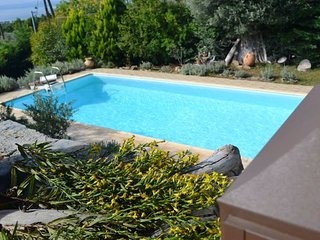 Evia Dafni Greece with private pool only 99km from Athens sleeps 7 ps