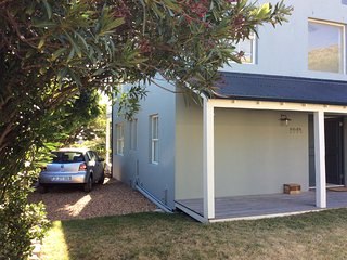 Rear of house with parking