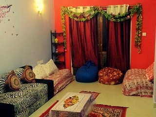 Cheapst 2BHK furnished PVT apartment vacation stay, Mapusa