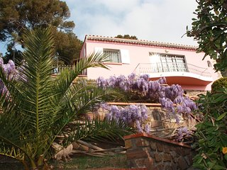 Ferienhaus-Traumlage-Panoramablick auf den Golf von Saint-Tropez / WLAN GRATIS