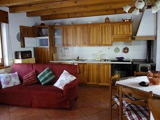 Cucina-Pranzo-soggiorno