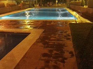 Gandía Playa, con piscina