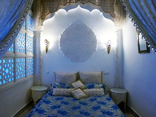 DAR ARSAMA, Beautiful Blue Suite, Fes Medina, Fez