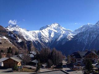 AU CENTRE ET AU PIED DE PISTE A 20 M DU TELESIEGE SUPERBE VUE  NEUF BIEN EQUIPE, Les 2 Alpes