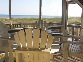 Amazing 180 Degree View from this Cape San Blas Beach Home