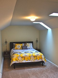 Bedroom 5, attic, queen Serta Perfect Sleeper mattress, very private