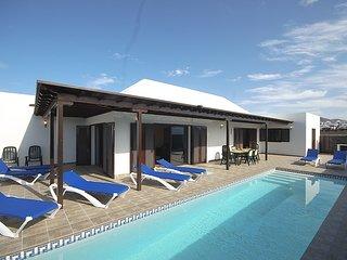 Villa Topaz, playa blanca, lanzarote.