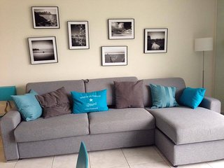 Beau studio de 32 m2 avec balcon de 15 m2 vue mer (507)