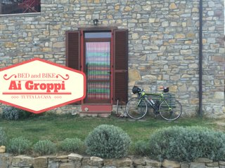 Bed & Bike Ai Groppi -weekend in bicicletta vicino al Castello di Gropparello