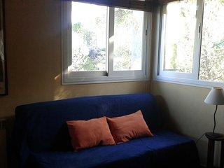 Villa de 2 habitaciones y un espacio con dos camas