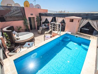 Duplex with Rooftop Terrace and Private Pool in the Center of Marrakech