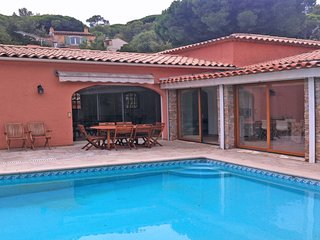 Villa 11 personnes - Piscine privative - Climatisation - WiFi - Sainte Maxime