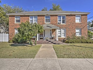 NEW! 1BR Norman Apartment - Steps from OU Campus Corner!