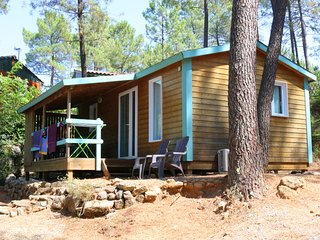 Cottage very well equipped 36m2 in a 4-star camps