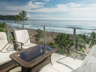 3 bed, 3 full bath, wrap around beach front balcony, pool & ocean views!