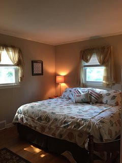 Master bedroom - open window, fresh sea air or Central air