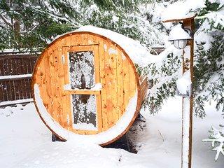 Spa Sauna House in Poconos near Lake, Kalahari, Camelback & Ski Resort, Pocono Summit