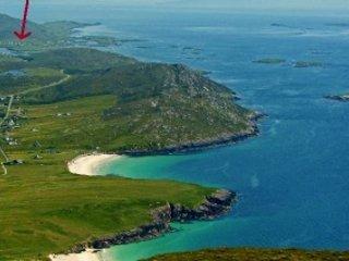 Kilda House, Isle of Harris, Sea Loch Views, sleeps 2-6/7, many beaches 5 min.