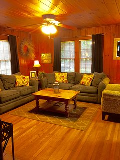 As soon as you walk in you feel as if you have just come home.  The knotty pine walls and hard wood floors are a visual...