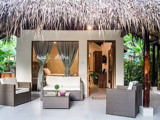 Bungalow with King-Sized Bed and Queen-Sized Bed -- Banana Beach Bungalows, Santa Teresa