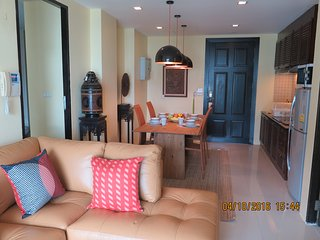 3 Bedrooms Apartment with Contemporary Furnishing walking to Patong beach 1 km