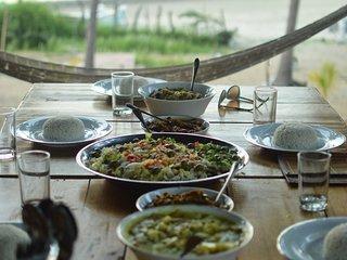 Traditional Sri Lankan food