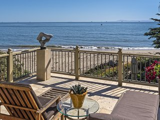 Possibly the most luxurious beachfront home in Montecito - Montecito Beach Estate