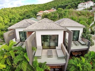 Featuring a collection of eight stylish turnkey villas, 2BR up to 6 guests, St. Barthelemy