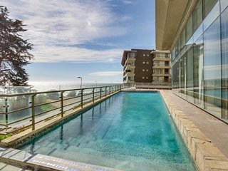 Oceanfront condo features stunning ocean views and shared pool access!