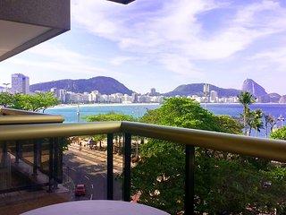 LUX RIO 09 - 2 quartos vista praia copacabana
