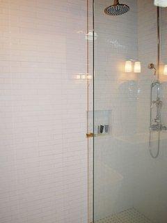Master Bath, Custom Shower