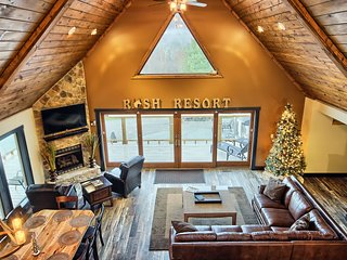 Rush Resort Luxury Lodge and Horse Stables, Laurelville