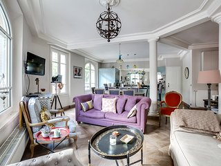 Sophisticated apartment with great deco in the Marais, París