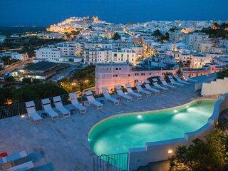 Rent Villa with pool in Puglia, Ostuni - amazing sea view at Villa Zeus - wifi