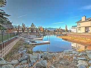 3BR South Lake Tahoe Condo w/Boat Dock!