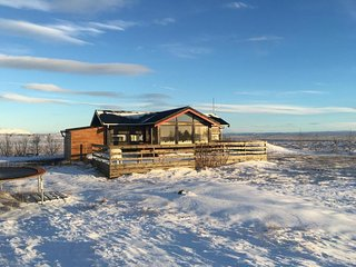 Cosy Cottage in Golden Circle, Skalholt