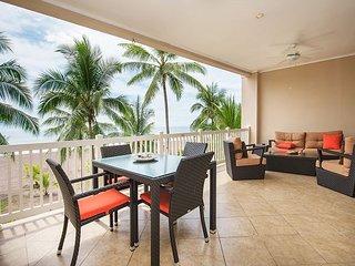 2 bed, 2 bath, large outdoor balcony, beach views, sleeps 6!