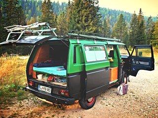 Campervan rental, Bled, Slovenia