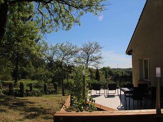 Gîte Excellent Sarlat: terrasse privé, vue panoramique, 10 min au pied du centre, Sarlat-la-Canéda