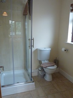 Ensuite bathroom in two master bedrooms