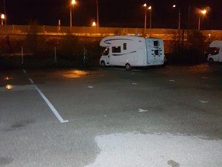 alojamiento en autocaravana, Algete